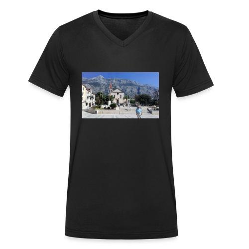 Makarska - Männer Bio-T-Shirt mit V-Ausschnitt von Stanley & Stella