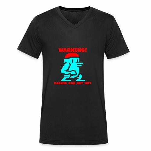 Roaming Thomas - Men's Organic V-Neck T-Shirt by Stanley & Stella