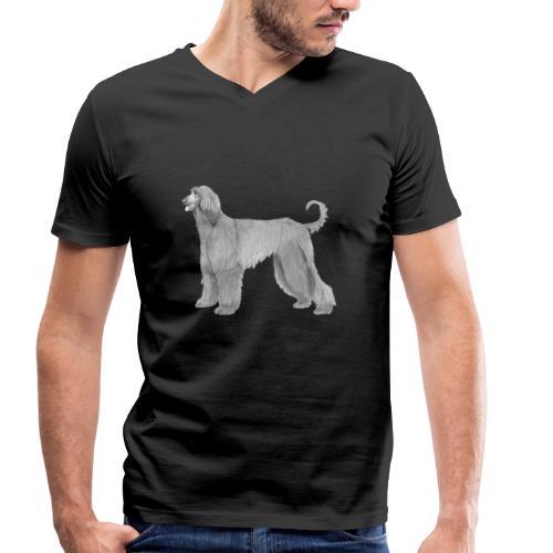 afghanskMynde - Økologisk Stanley & Stella T-shirt med V-udskæring til herrer