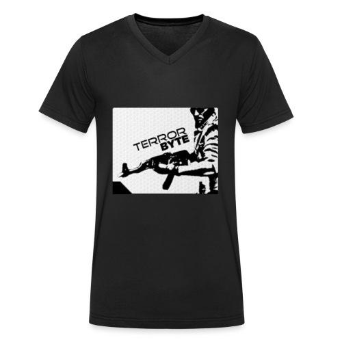 TerrorbyteGaming Emblem - Männer Bio-T-Shirt mit V-Ausschnitt von Stanley & Stella