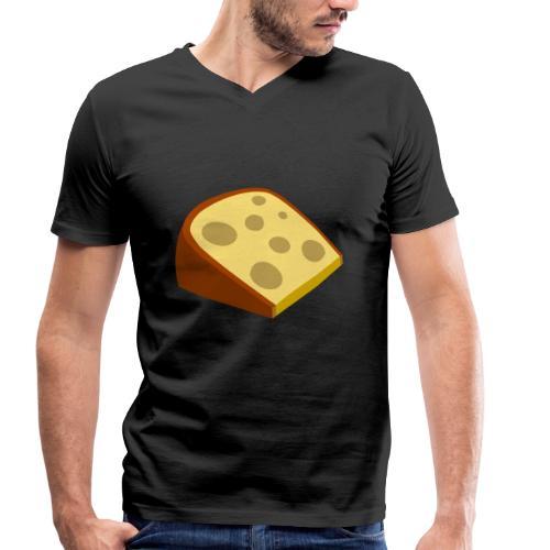 cheese - Männer Bio-T-Shirt mit V-Ausschnitt von Stanley & Stella