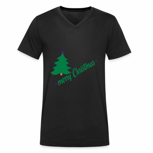 Weihnachten - Männer Bio-T-Shirt mit V-Ausschnitt von Stanley & Stella