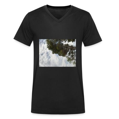 Vacation - Økologisk T-skjorte med V-hals for menn fra Stanley & Stella