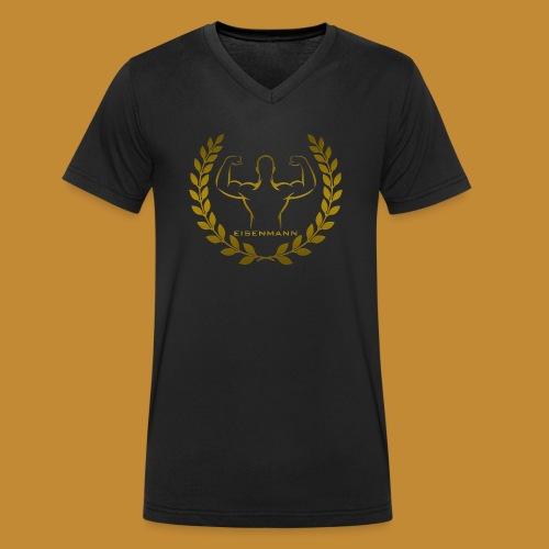 Eisenmann - Männer Bio-T-Shirt mit V-Ausschnitt von Stanley & Stella