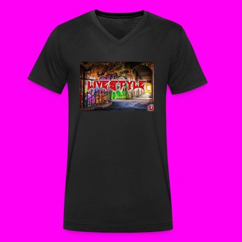 LIVESTYLE [STYLE1] - Männer Bio-T-Shirt mit V-Ausschnitt von Stanley & Stella