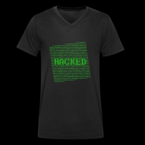 Hacked - Økologisk Stanley & Stella T-shirt med V-udskæring til herrer