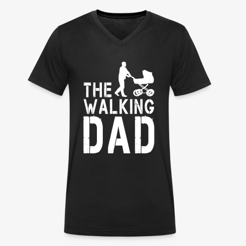 The Walking Dad V2 - Männer Bio-T-Shirt mit V-Ausschnitt von Stanley & Stella