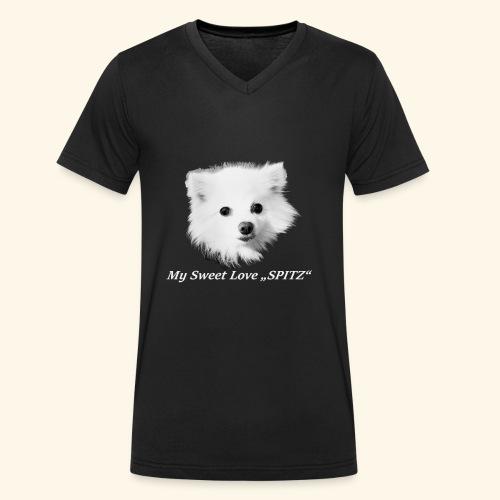 Original Love Shirt - Männer Bio-T-Shirt mit V-Ausschnitt von Stanley & Stella