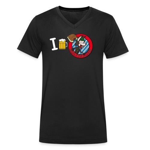 BierDesign - Männer Bio-T-Shirt mit V-Ausschnitt von Stanley & Stella