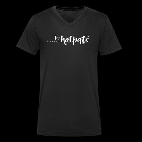 Hatpats Big Band - Männer Bio-T-Shirt mit V-Ausschnitt von Stanley & Stella