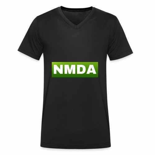 Green NMDA - Men's Organic V-Neck T-Shirt by Stanley & Stella