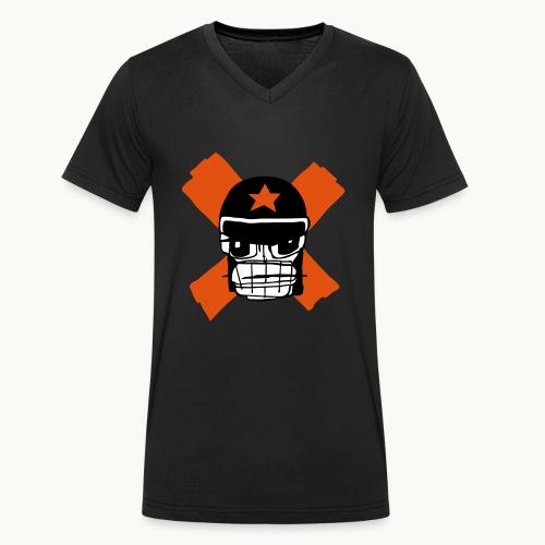 Motard Micky Biker - T-shirt bio col V Stanley & Stella Homme
