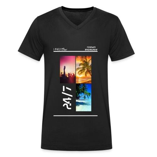 MPCG Crew Summer Party - Männer Bio-T-Shirt mit V-Ausschnitt von Stanley & Stella