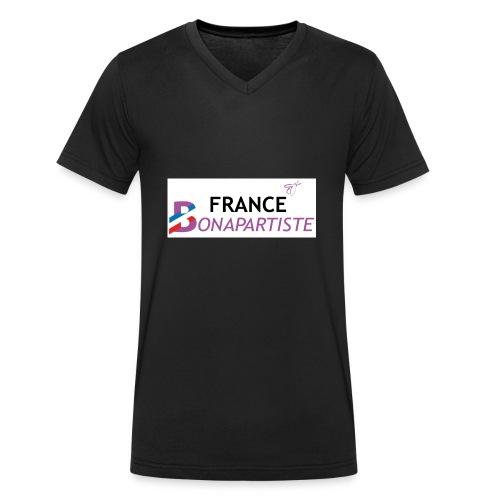 1 logo FB 2016 HD OK - T-shirt bio col V Stanley & Stella Homme