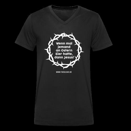 Ostern II - Männer Bio-T-Shirt mit V-Ausschnitt von Stanley & Stella