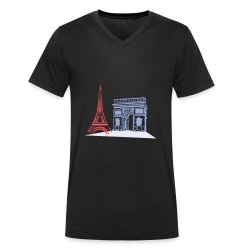 Paris - T-shirt bio col V Stanley & Stella Homme