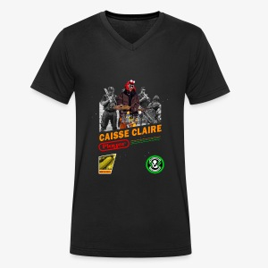 Caisse Claire playerendo - T-shirt bio col V Stanley & Stella Homme
