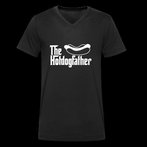 The Hotdogfather - Camiseta ecológica hombre con cuello de pico de Stanley & Stella