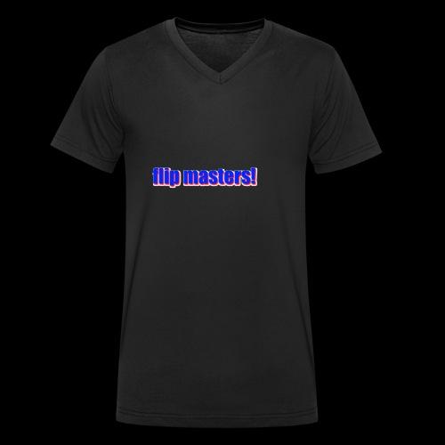 sappig - Mannen bio T-shirt met V-hals van Stanley & Stella