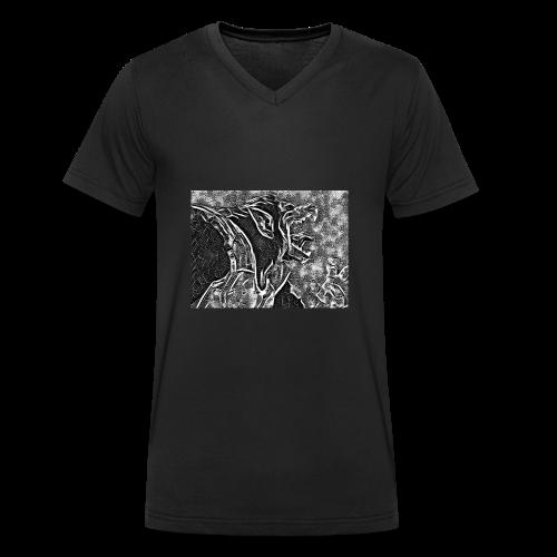 Dragon Ball Z - Oozaru Roar - T-shirt bio col V Stanley & Stella Homme