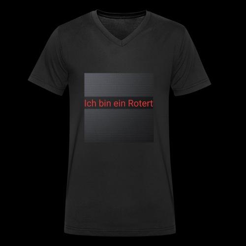Rotert - Männer Bio-T-Shirt mit V-Ausschnitt von Stanley & Stella