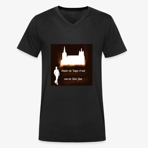 onder de cloud van de sint-jan - Mannen bio T-shirt met V-hals van Stanley & Stella