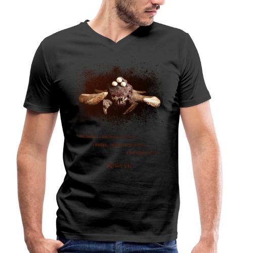 Desert Monster Mask   Lyrics Edition - T-shirt ecologica da uomo con scollo a V di Stanley & Stella