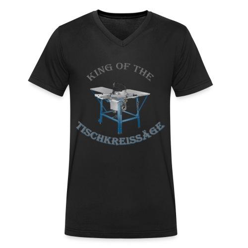 King of the Tischkreissäge - Männer Bio-T-Shirt mit V-Ausschnitt von Stanley & Stella