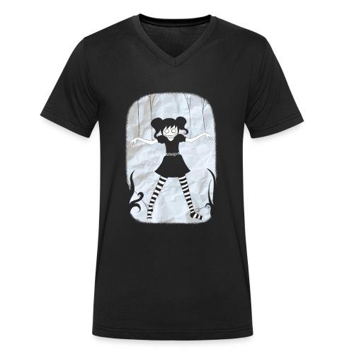 Happy Marionette - Männer Bio-T-Shirt mit V-Ausschnitt von Stanley & Stella