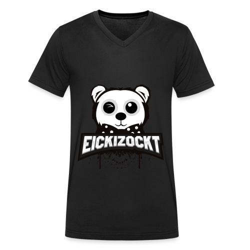 EickiZockt - Männer Bio-T-Shirt mit V-Ausschnitt von Stanley & Stella