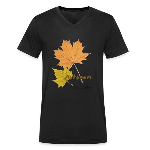 Streetworker art by Marcello Luce - autumn 2018 - Männer Bio-T-Shirt mit V-Ausschnitt von Stanley & Stella