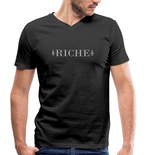 Riche - T-shirt bio col V Stanley & Stella Homme