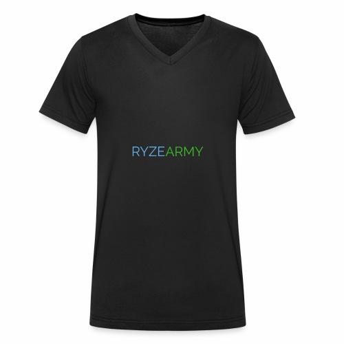 RyzeArmyModern - Männer Bio-T-Shirt mit V-Ausschnitt von Stanley & Stella