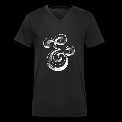 Esperluette - T-shirt bio col V Stanley & Stella Homme