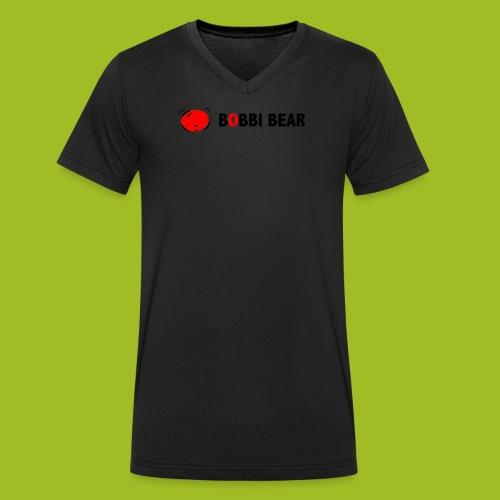 Bobbi Bear - Mannen bio T-shirt met V-hals van Stanley & Stella