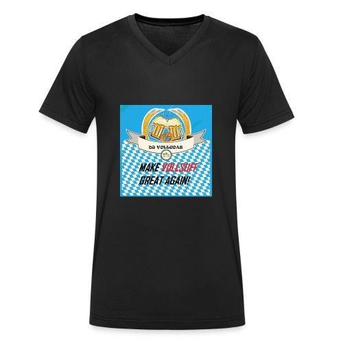 DJ VOLLGOAS - Männer Bio-T-Shirt mit V-Ausschnitt von Stanley & Stella