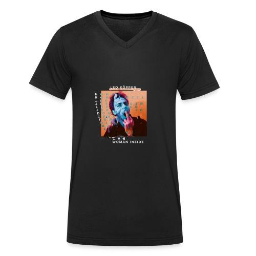 SHIRT4 - Männer Bio-T-Shirt mit V-Ausschnitt von Stanley & Stella