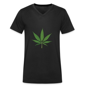 Weed - Men's Organic V-Neck T-Shirt by Stanley & Stella