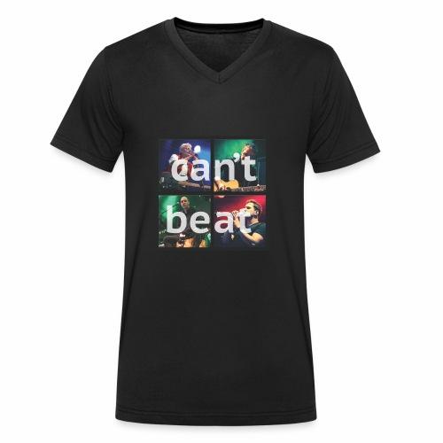 can't beat - Männer Bio-T-Shirt mit V-Ausschnitt von Stanley & Stella