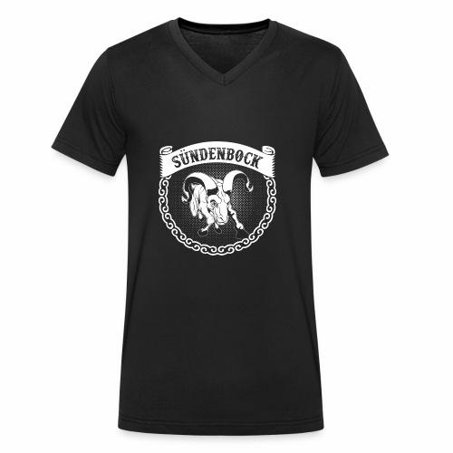 Sündenbock - Männer Bio-T-Shirt mit V-Ausschnitt von Stanley & Stella