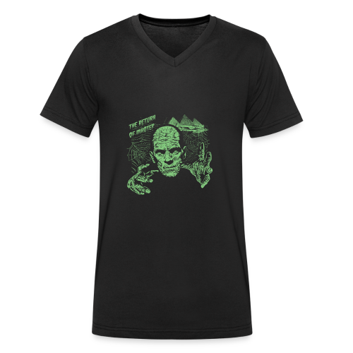 The Return of Imhotec - Men's Organic V-Neck T-Shirt by Stanley & Stella