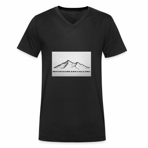 Mountains are calling - Männer Bio-T-Shirt mit V-Ausschnitt von Stanley & Stella