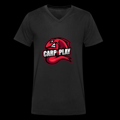 CarpNPlay - Männer Bio-T-Shirt mit V-Ausschnitt von Stanley & Stella