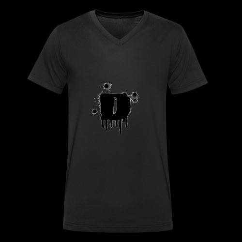davelogo - Männer Bio-T-Shirt mit V-Ausschnitt von Stanley & Stella