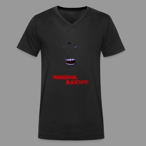 Paranormal Blacktivity - Männer Bio-T-Shirt mit V-Ausschnitt von Stanley & Stella