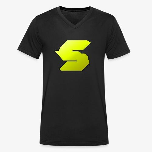 Original Sebabeba Symbol - Männer Bio-T-Shirt mit V-Ausschnitt von Stanley & Stella