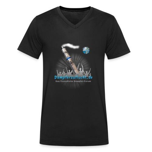 Dampferzuflucht - Männer Bio-T-Shirt mit V-Ausschnitt von Stanley & Stella