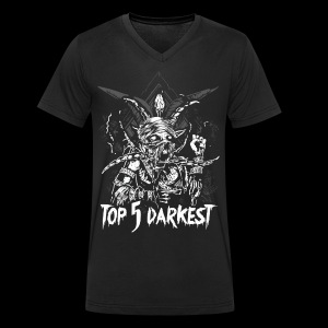 Top 5 Darkest - Men's Organic V-Neck T-Shirt by Stanley & Stella