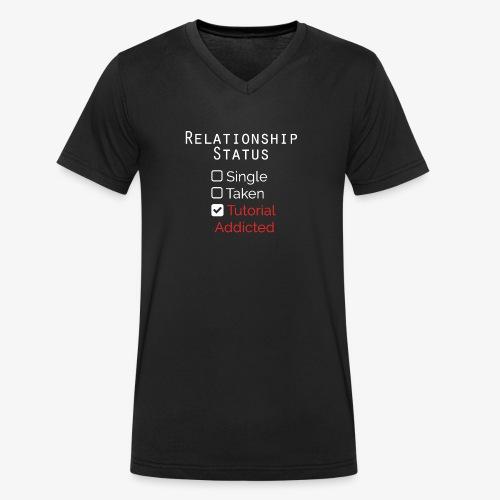 stato delle relazioni - T-shirt ecologica da uomo con scollo a V di Stanley & Stella