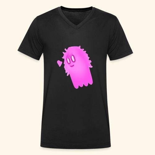 Pink (Boopsies) - T-shirt bio col V Stanley & Stella Homme